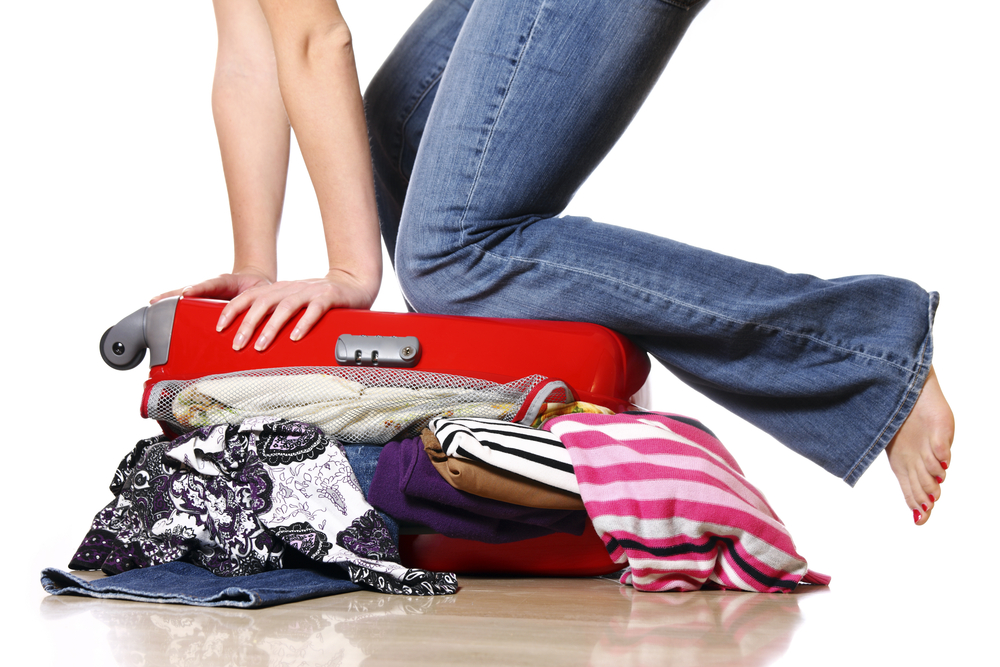 Packing for the holiday - Shutterstock