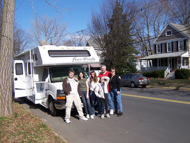 An RV Getaway For The Whole Family