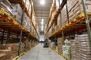 A full warehouse