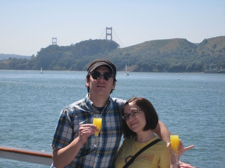 us on the sf bay brunch cruise