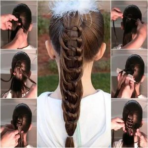 Learn To Make A Perfect Braid - Here Are The Best Tutorial Posts from Roposo