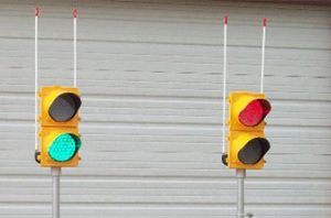Portable Traffic Signals and Lights Are Often Required
