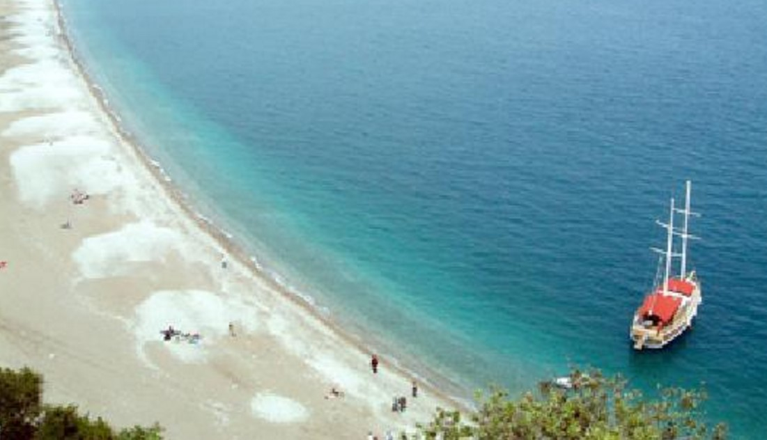 Cirali Beach in Turkey