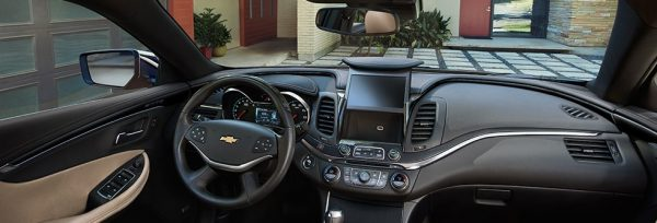 Interior Features In The 2017 Chevy Impala