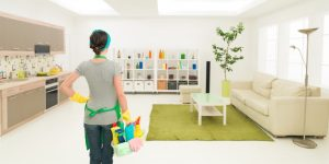 What To Do When You Are Spring Cleaning Living Spaces