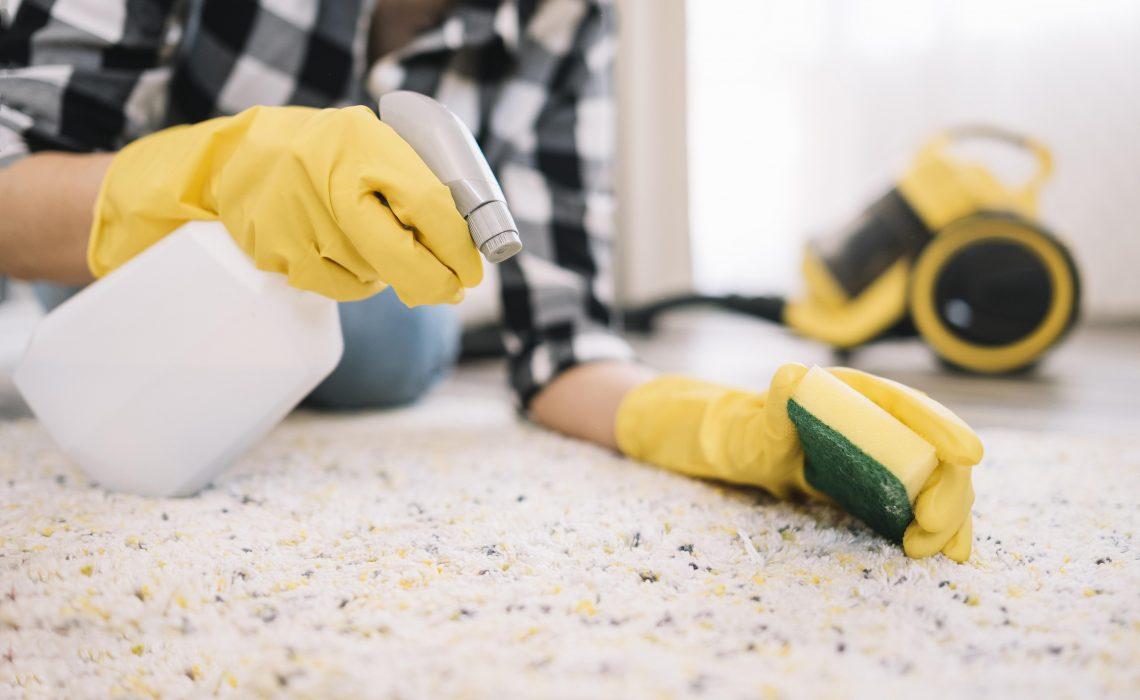 Carpet Clean by 6 Simple Tricks